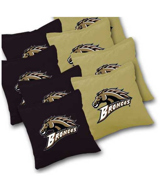 Western-Michigan-Broncos-Cornhole-Bags-Set