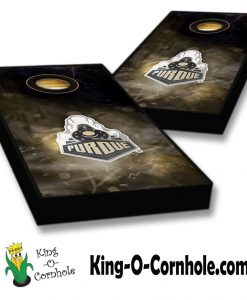 Purdue Boilermakers Smoke Cornhole Boards Set