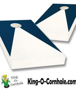 Triangle Painted Cornhole Board Set