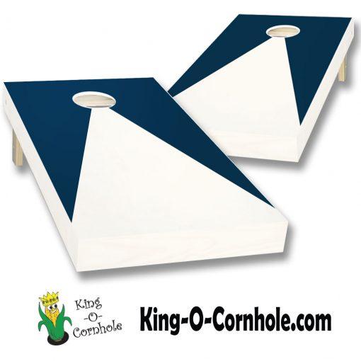 Triangle Painted Cornhole Board Set